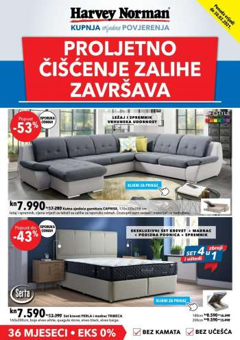 Harvey Norman katalog - 23.03.2021. - 30.03.2021.