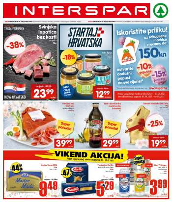 INTERSPAR katalog - 24.03.2021. - 30.03.2021.