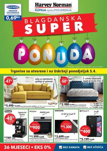 Harvey Norman katalog - 30.03.2021. - 06.04.2021.