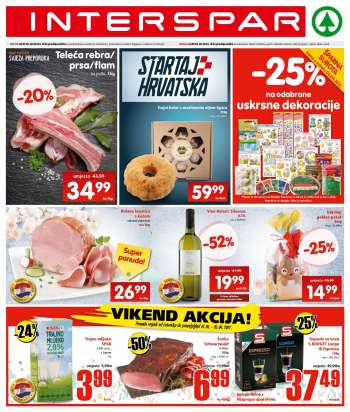 INTERSPAR katalog - 31.03.2021. - 06.04.2021.