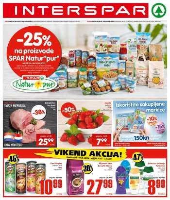 INTERSPAR katalog - 07.04.2021. - 13.04.2021.