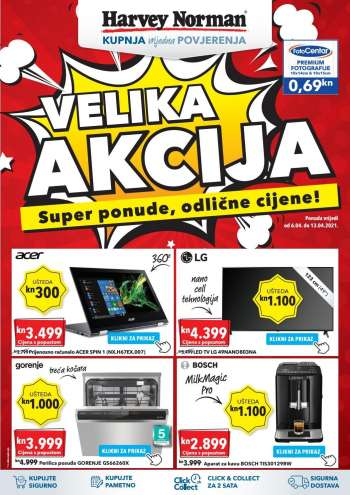 Harvey Norman katalog - 06.04.2021. - 13.04.2021.