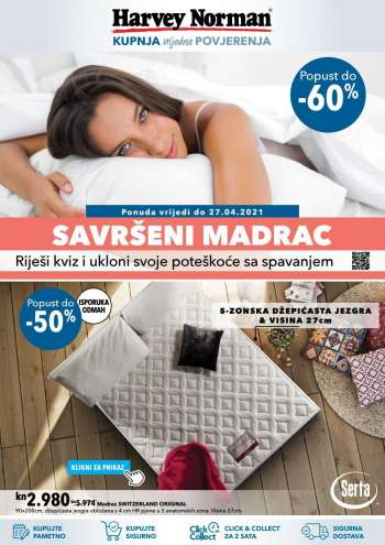 Harvey Norman katalog - 06.04.2021. - 27.04.2021.