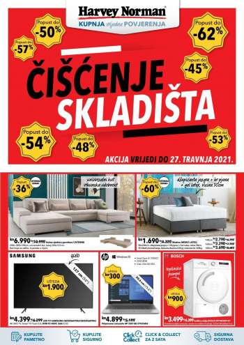 Harvey Norman katalog - 13.04.2021. - 27.04.2021.
