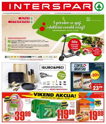 INTERSPAR katalog - 14.04.2021. - 20.04.2021.