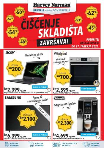Harvey Norman katalog - 20.04.2021. - 27.04.2021.