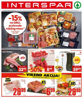 INTERSPAR katalog - 21.04.2021. - 27.04.2021.