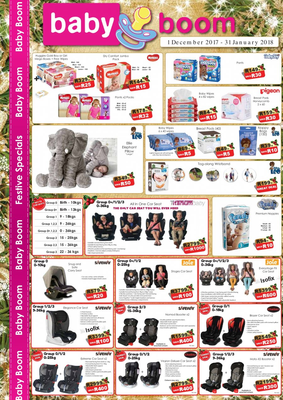Baby Boom catalogue  - 12.01.2017 - 01.31.2018. Page 1.