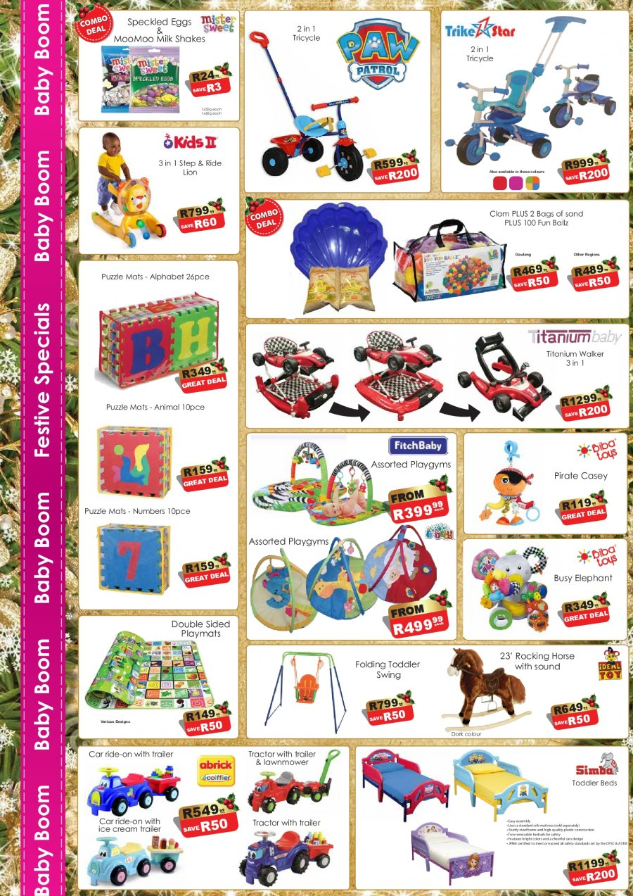 Baby Boom catalogue  - 12.01.2017 - 01.31.2018. Page 4.