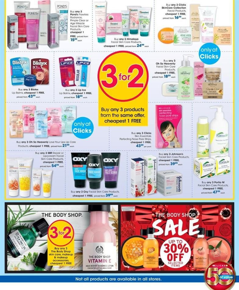 Clicks catalogue  - 07.23.2018 - 08.07.2018. Page 17.
