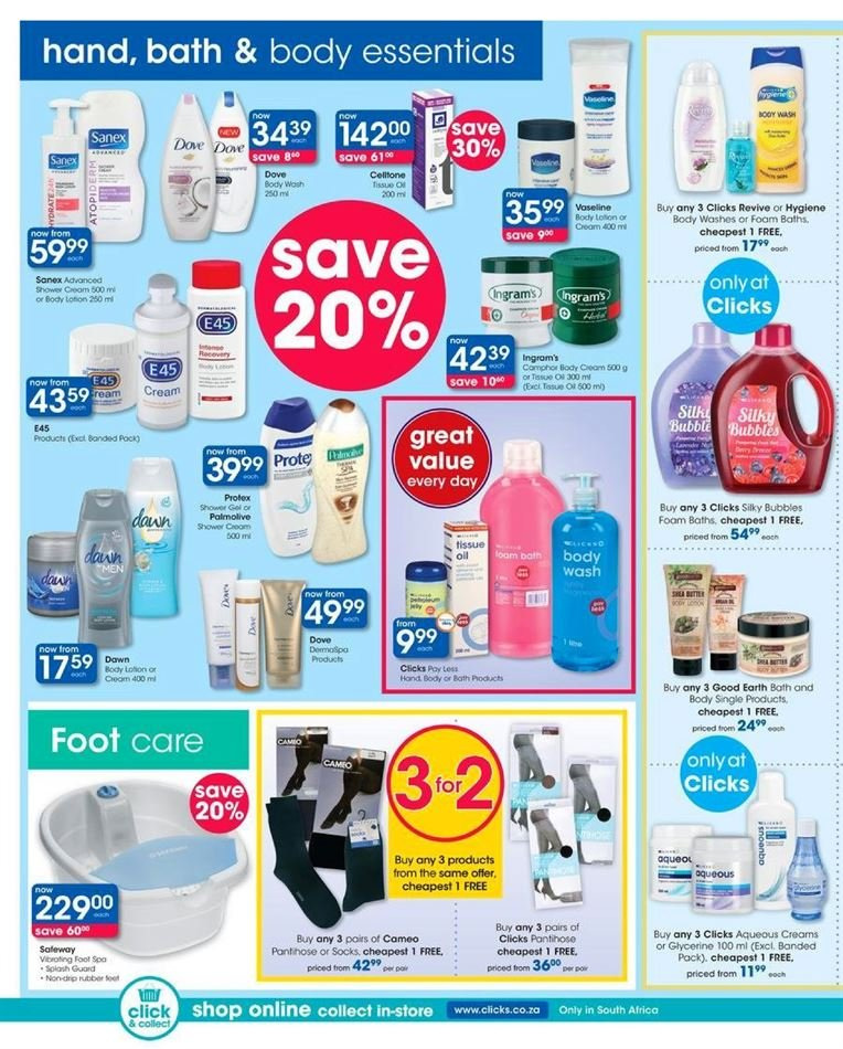Clicks catalogue  - 07.23.2018 - 08.07.2018. Page 18.