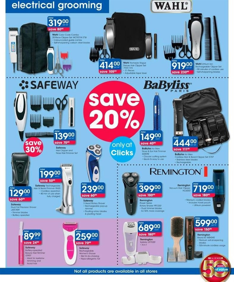 Clicks catalogue  - 07.23.2018 - 08.07.2018. Page 21.