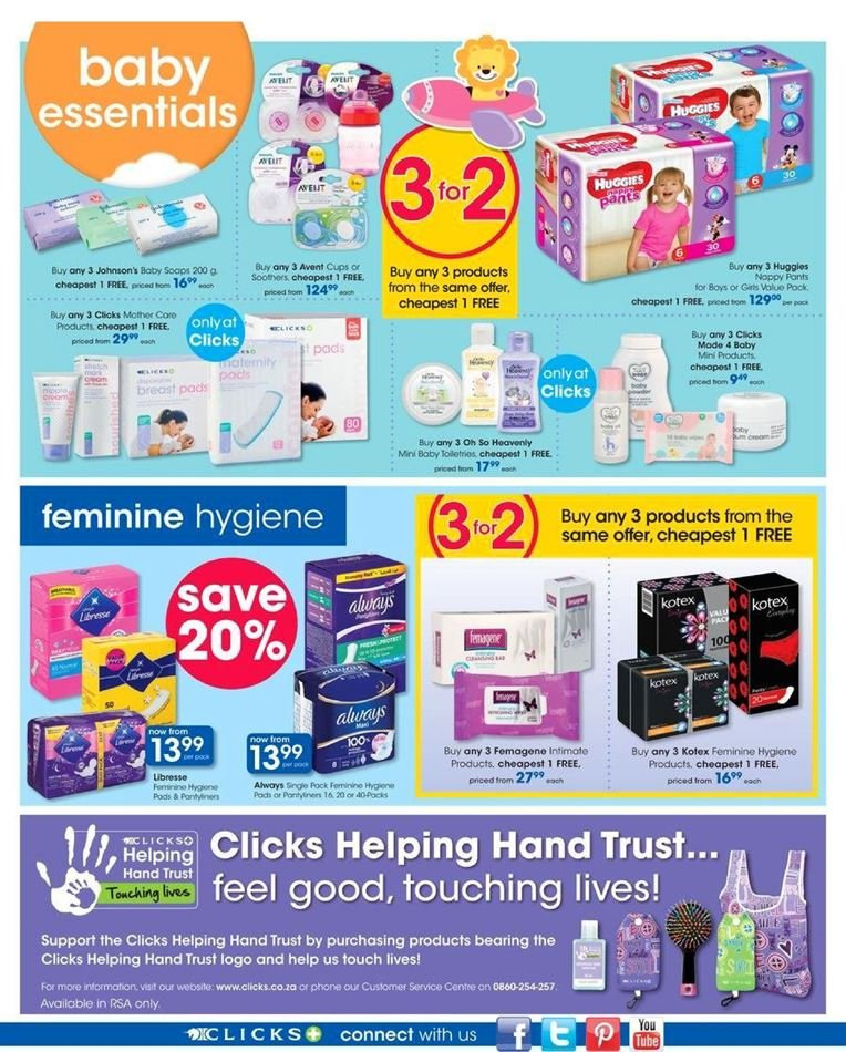 Clicks catalogue  - 07.23.2018 - 08.07.2018. Page 28.