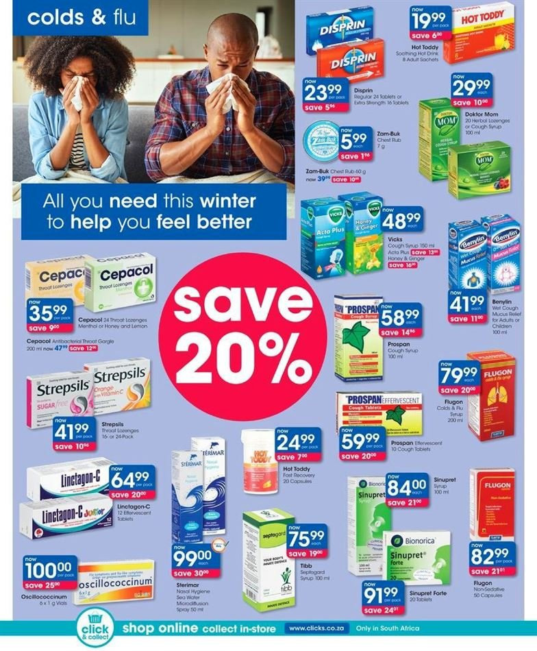 Clicks catalogue  - 07.23.2018 - 08.07.2018. Page 32.