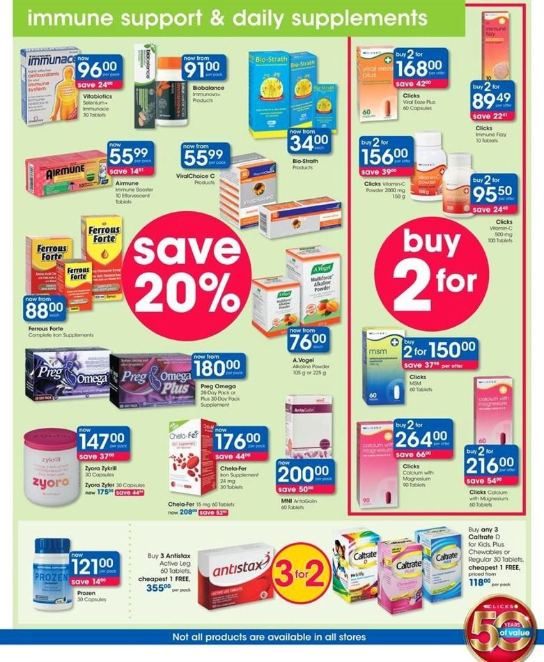 Clicks catalogue  - 07.23.2018 - 08.07.2018. Page 33.