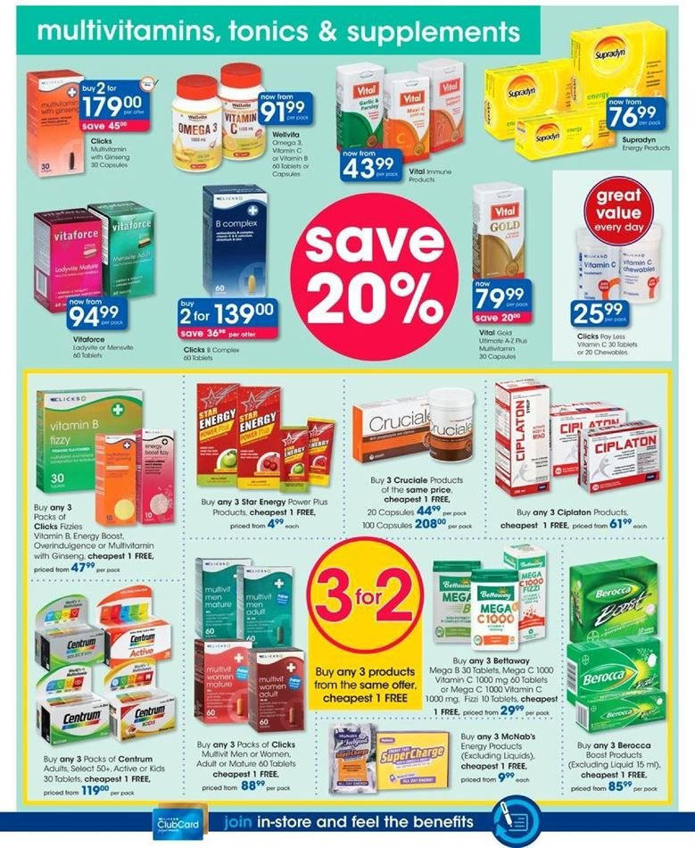 Clicks catalogue  - 07.23.2018 - 08.07.2018. Page 34.