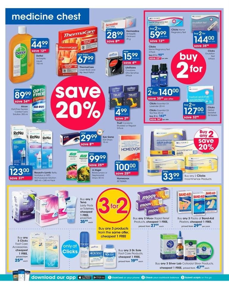 Clicks catalogue  - 07.23.2018 - 08.07.2018. Page 38.