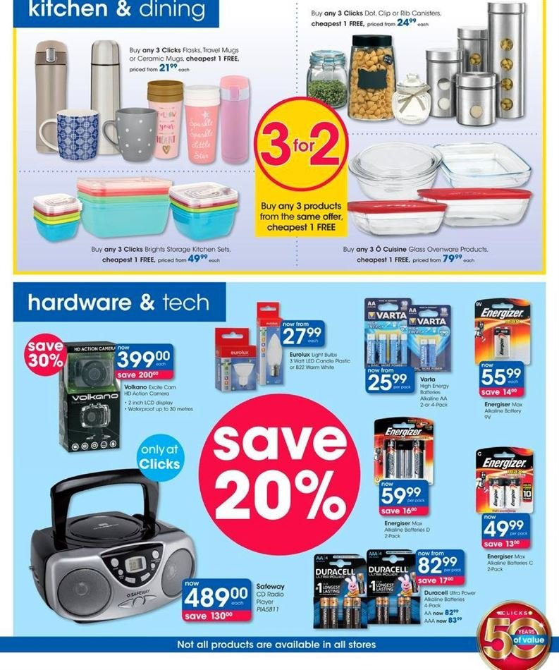 Clicks catalogue  - 07.23.2018 - 08.07.2018. Page 39.