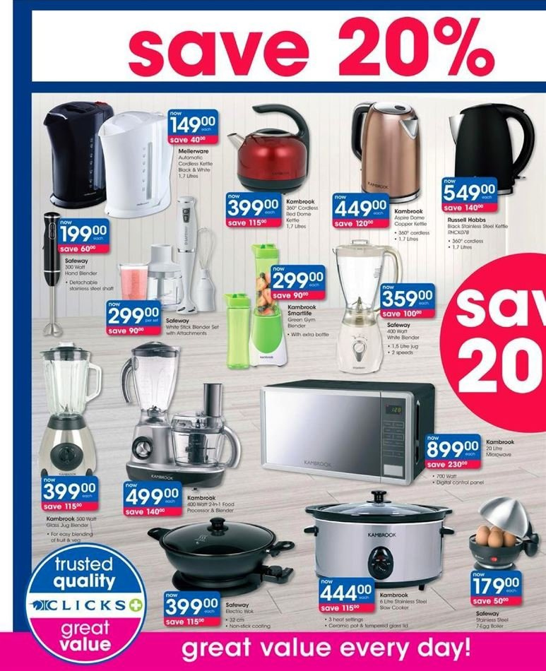 Clicks catalogue  - 07.23.2018 - 08.07.2018. Page 40.