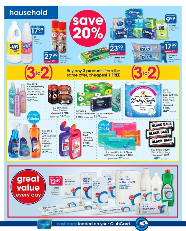 Clicks catalogue  - 07.23.2018 - 08.07.2018. Page 42.
