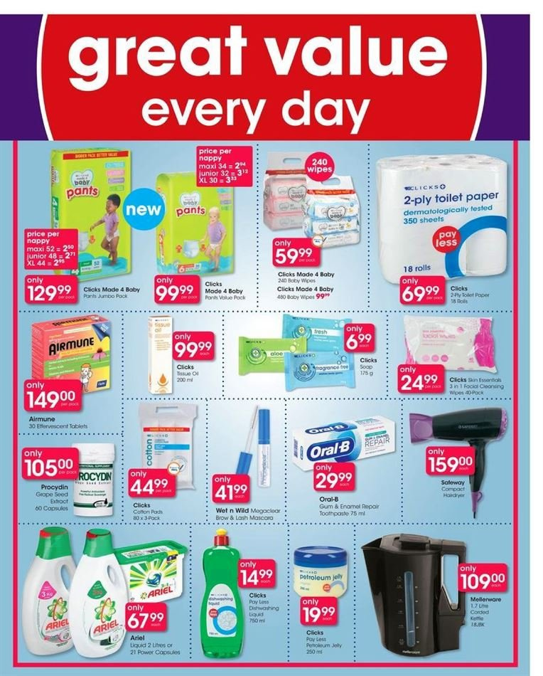 Clicks catalogue  - 07.23.2018 - 08.07.2018. Page 46.
