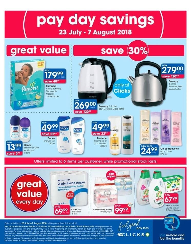 Clicks catalogue  - 07.23.2018 - 08.07.2018. Page 48.