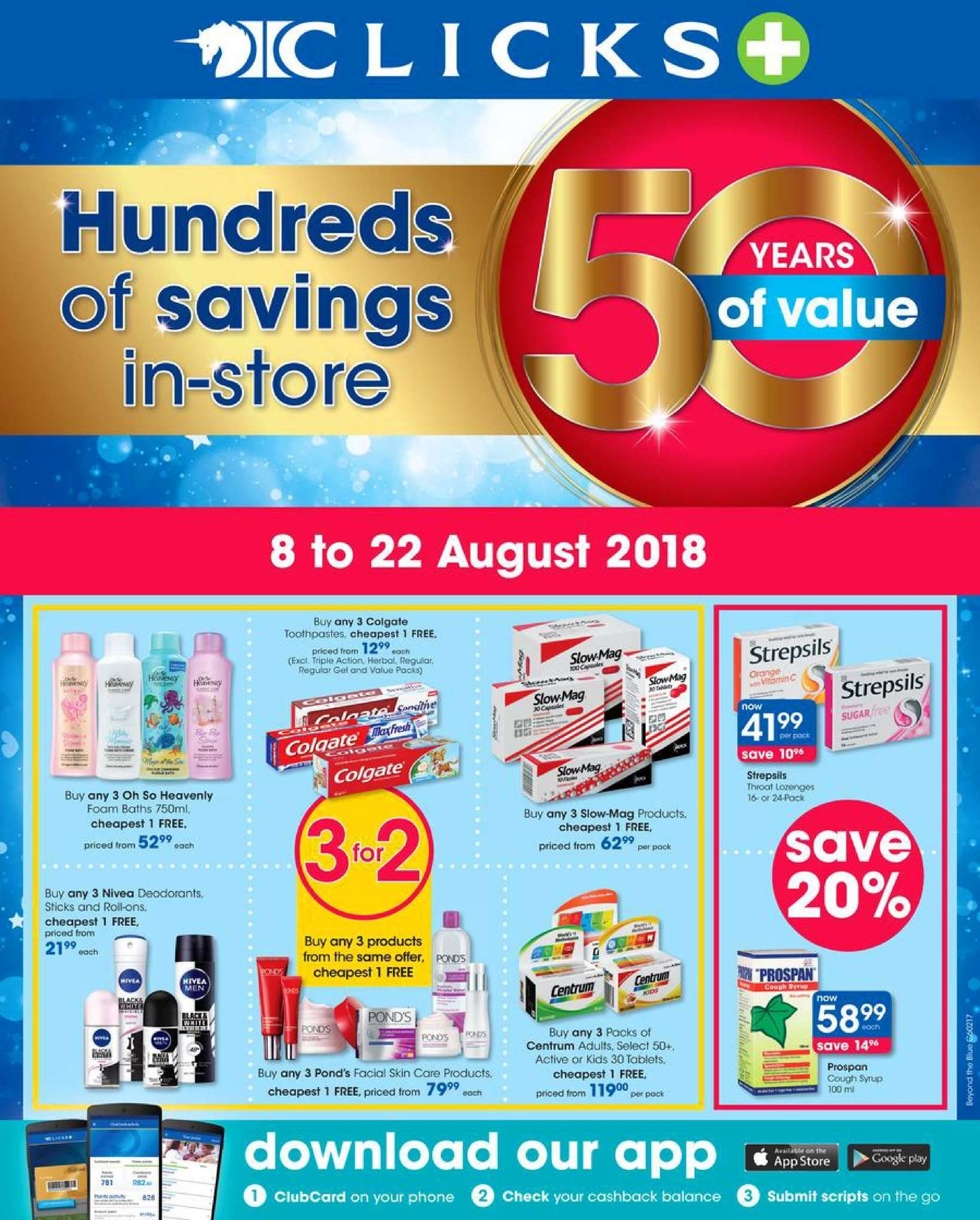 Clicks catalogue  - 08.08.2018 - 08.22.2018. Page 1.