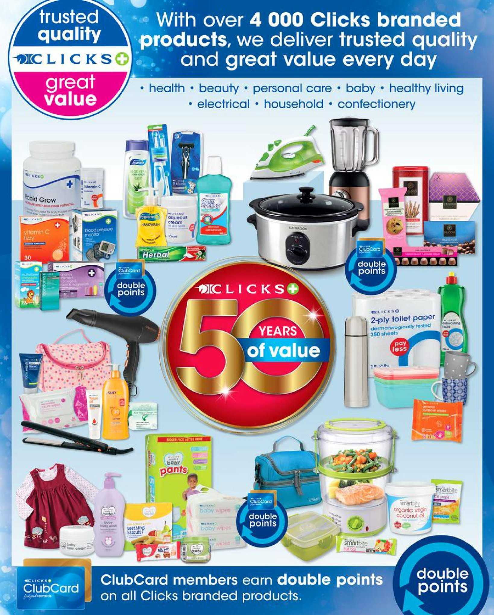 Clicks catalogue  - 08.08.2018 - 08.22.2018. Page 2.