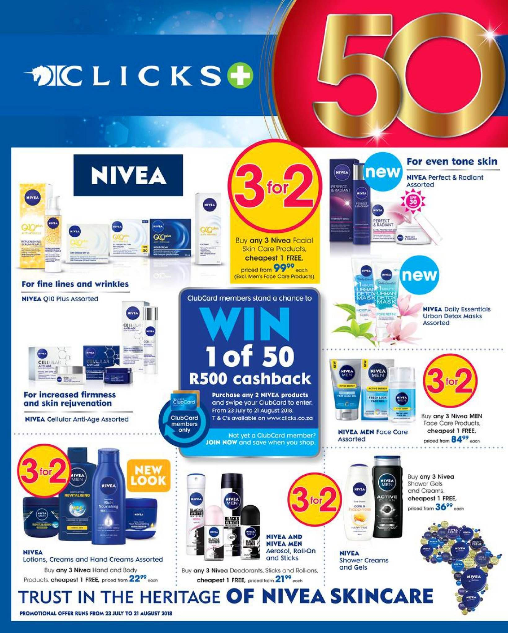 Clicks catalogue  - 08.08.2018 - 08.22.2018. Page 6.