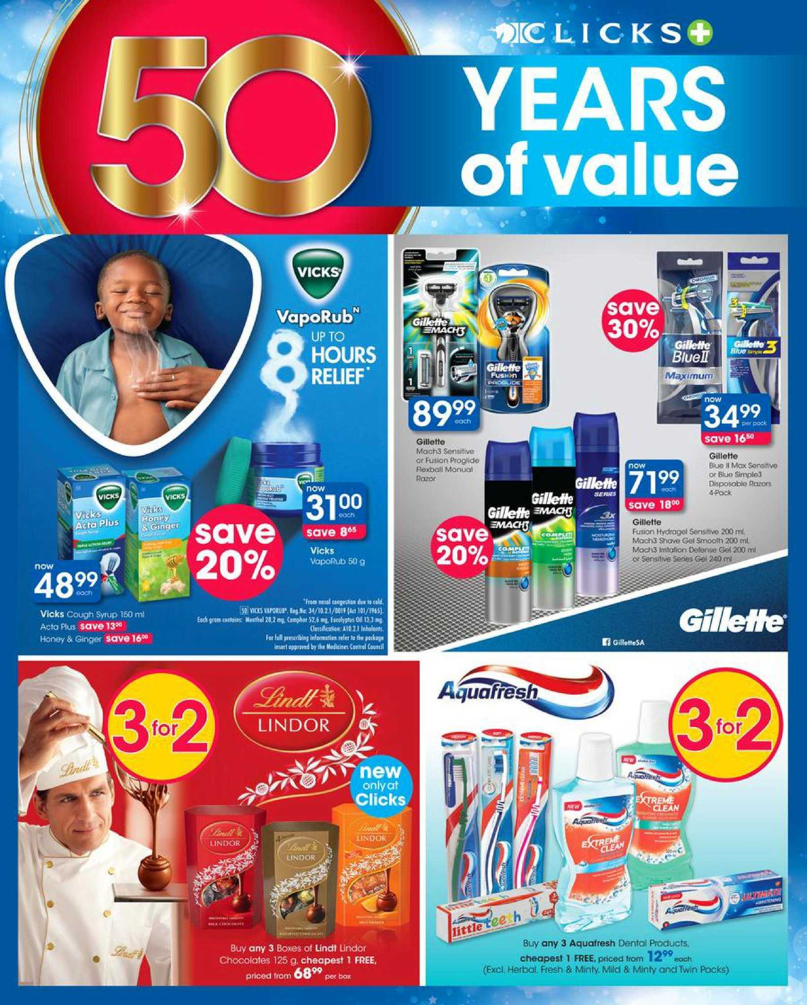 Clicks catalogue  - 08.08.2018 - 08.22.2018. Page 12.