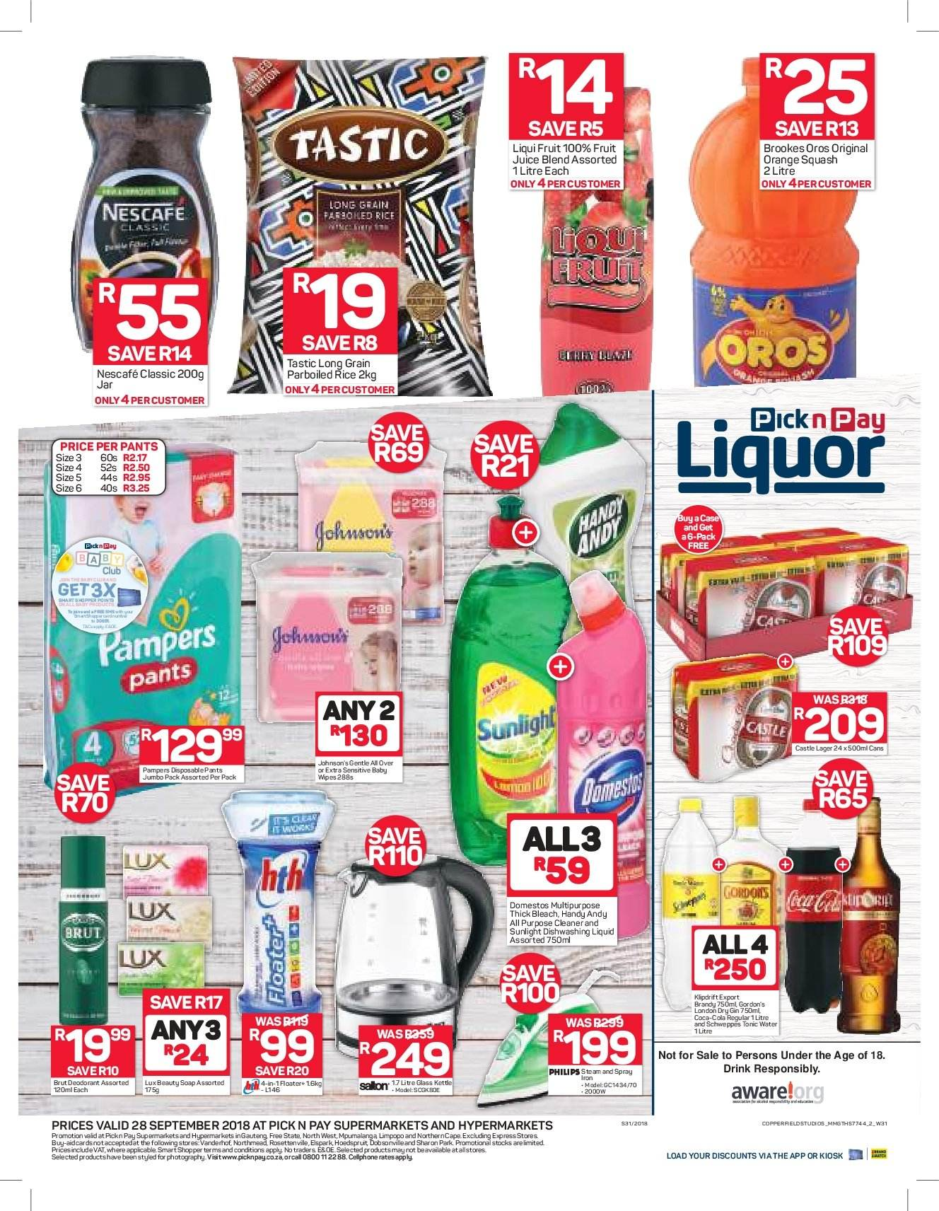 Pick n Pay catalogue  - 09.28.2018 - 09.28.2018. Page 2.