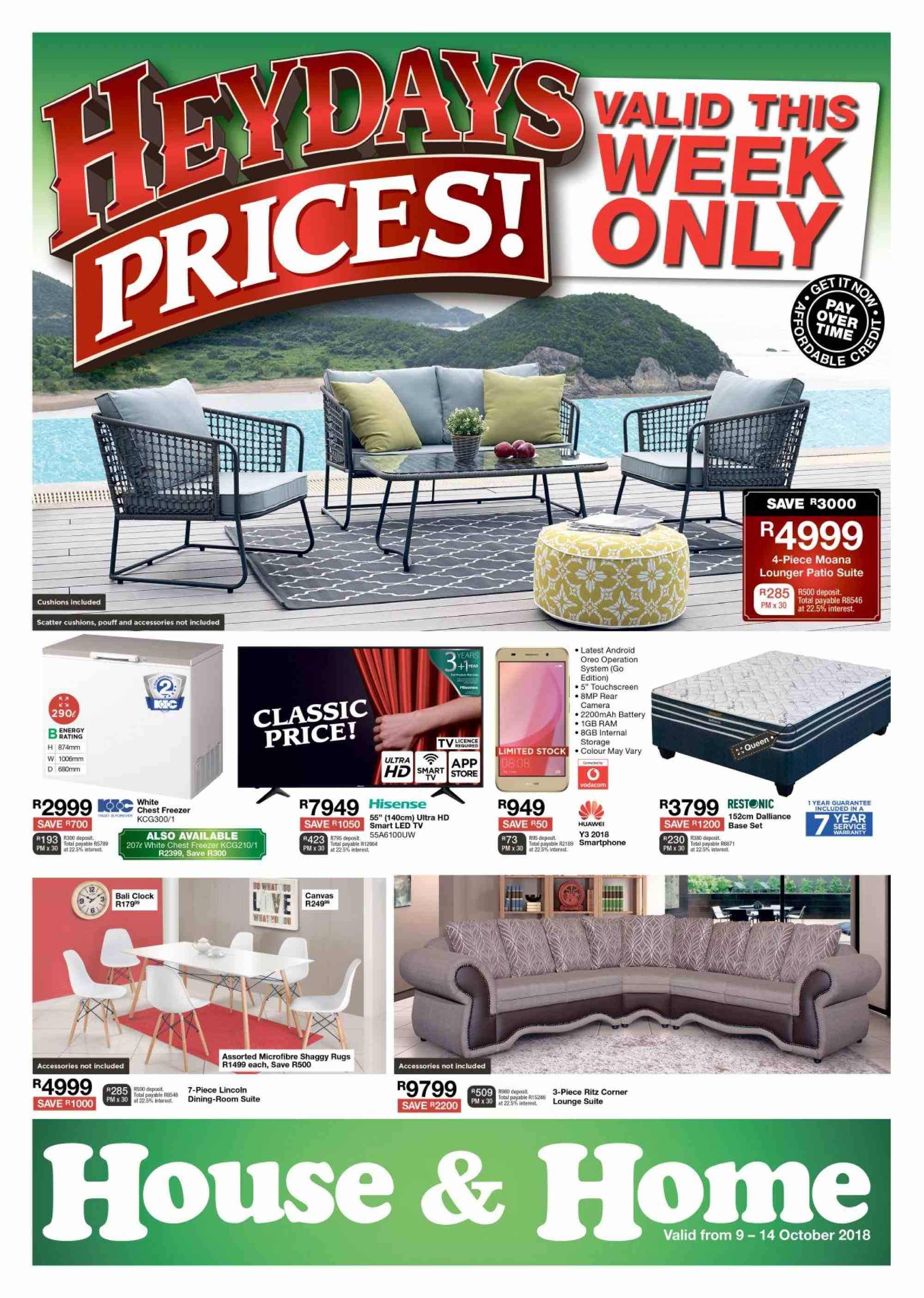 House & Home catalogue  - 10.09.2018 - 10.14.2018. Page 1.