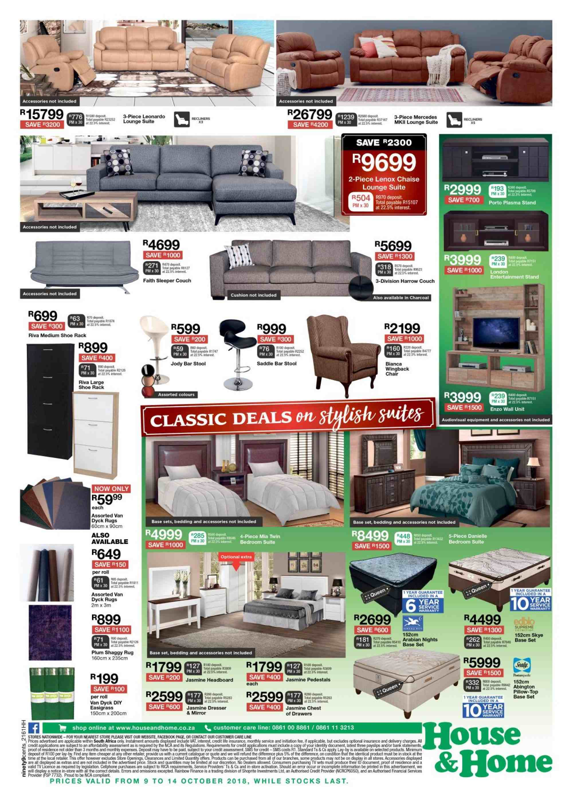 House & Home catalogue  - 10.09.2018 - 10.14.2018. Page 4.