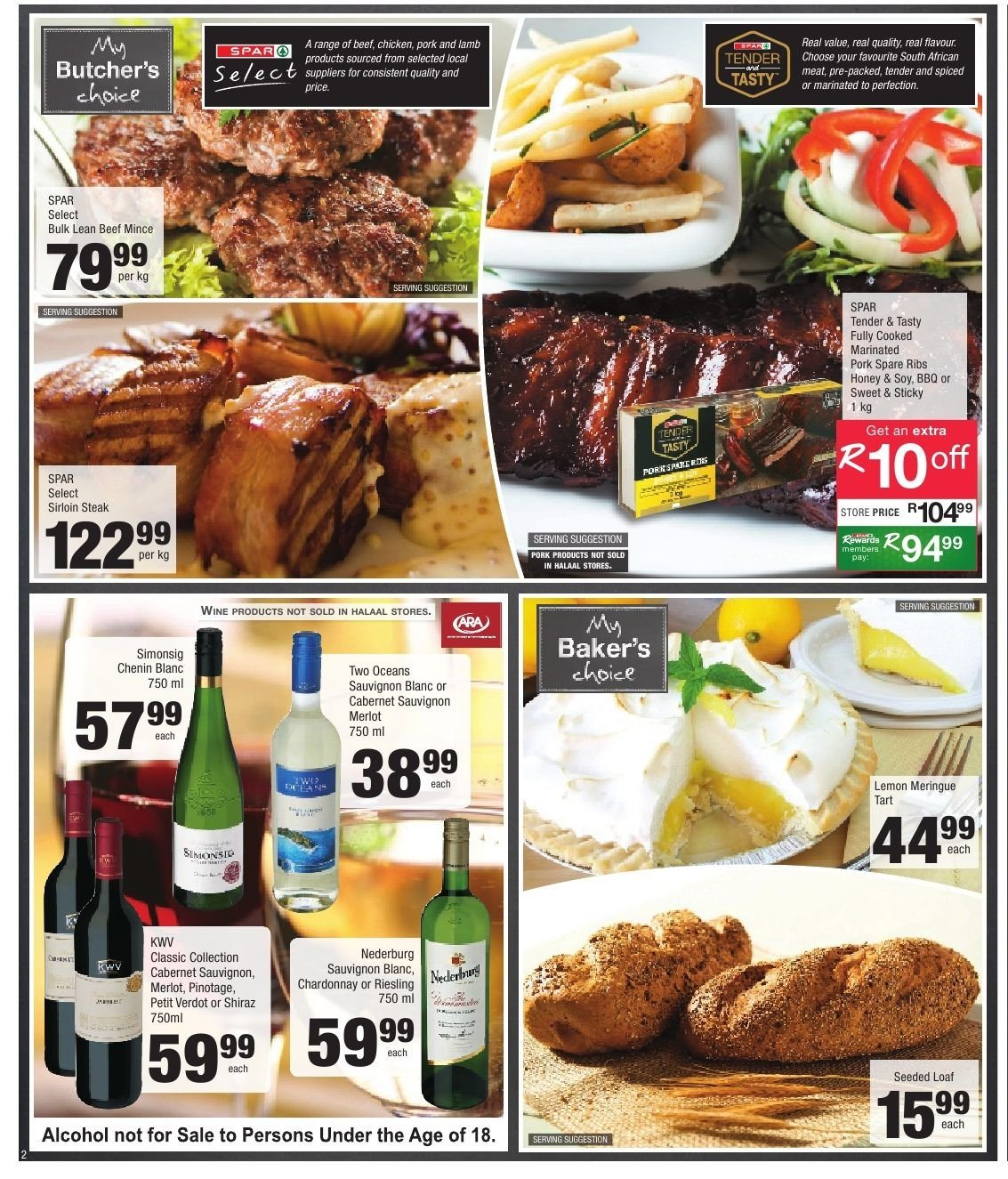 SPAR catalogue  - 10.22.2018 - 11.04.2018. Page 2.