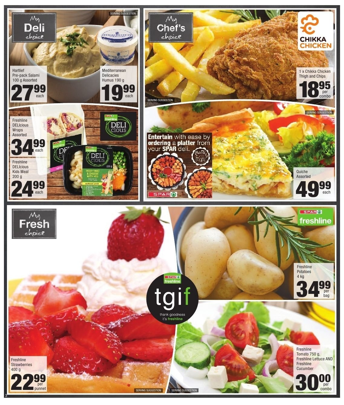 SPAR catalogue  - 10.22.2018 - 11.04.2018. Page 3.