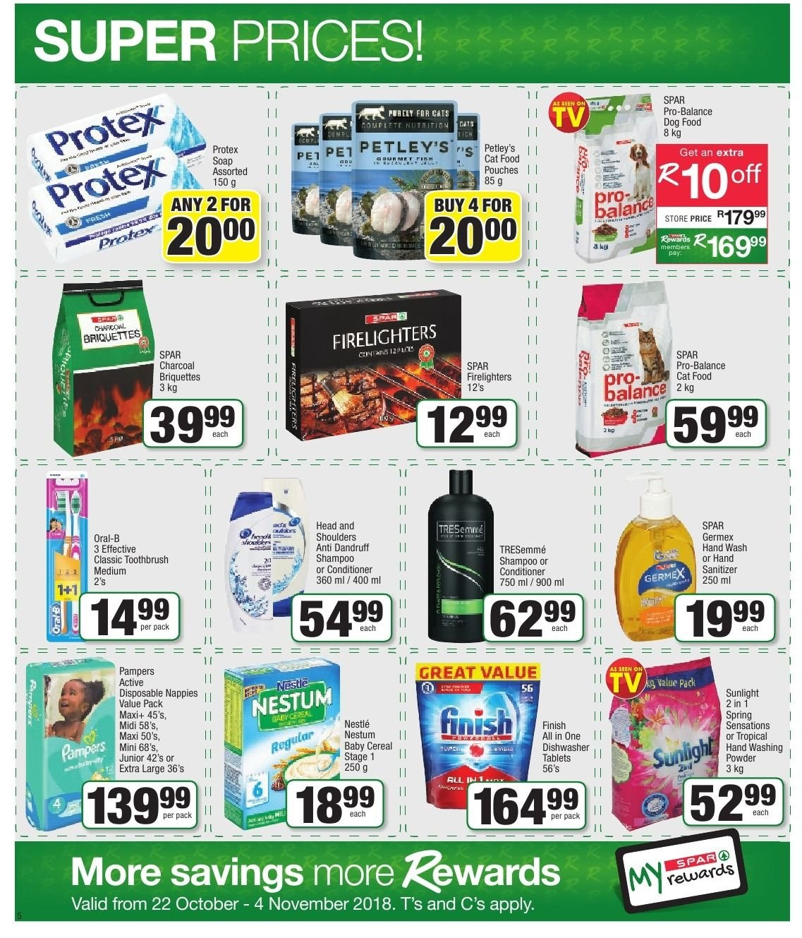 SPAR catalogue  - 10.22.2018 - 11.04.2018. Page 5.