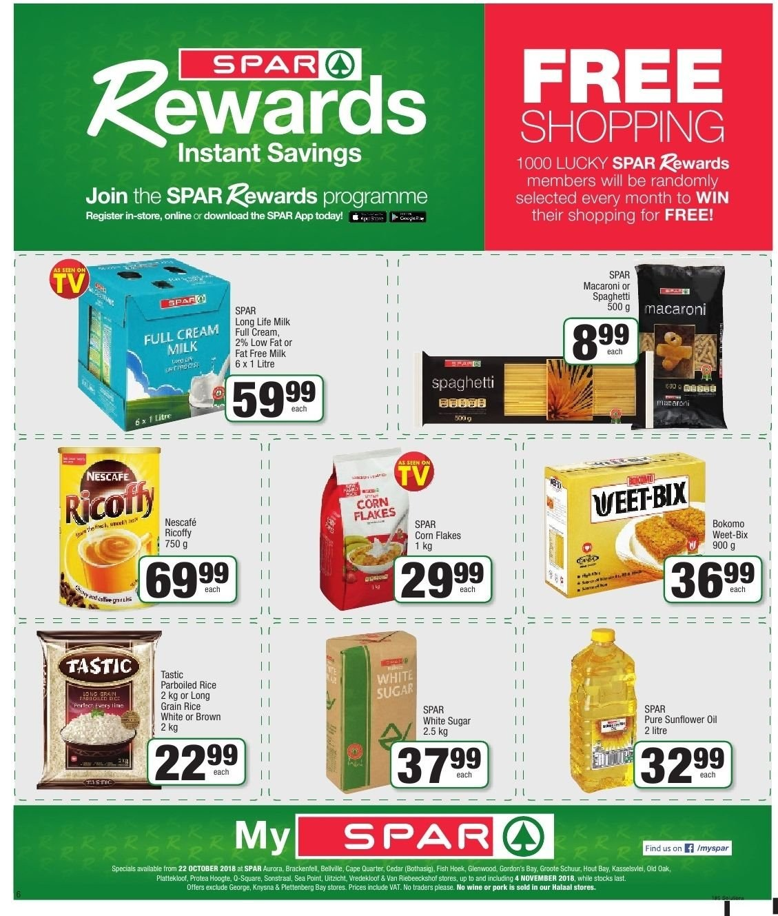 SPAR catalogue  - 10.22.2018 - 11.04.2018. Page 6.