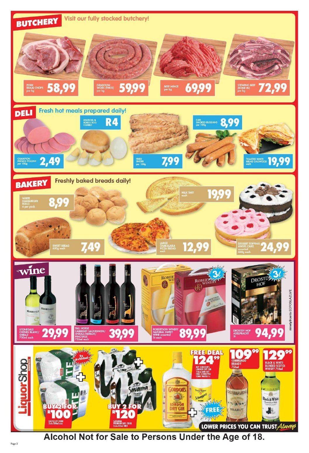 Shoprite catalogue  - 10.22.2018 - 11.04.2018. Page 2.