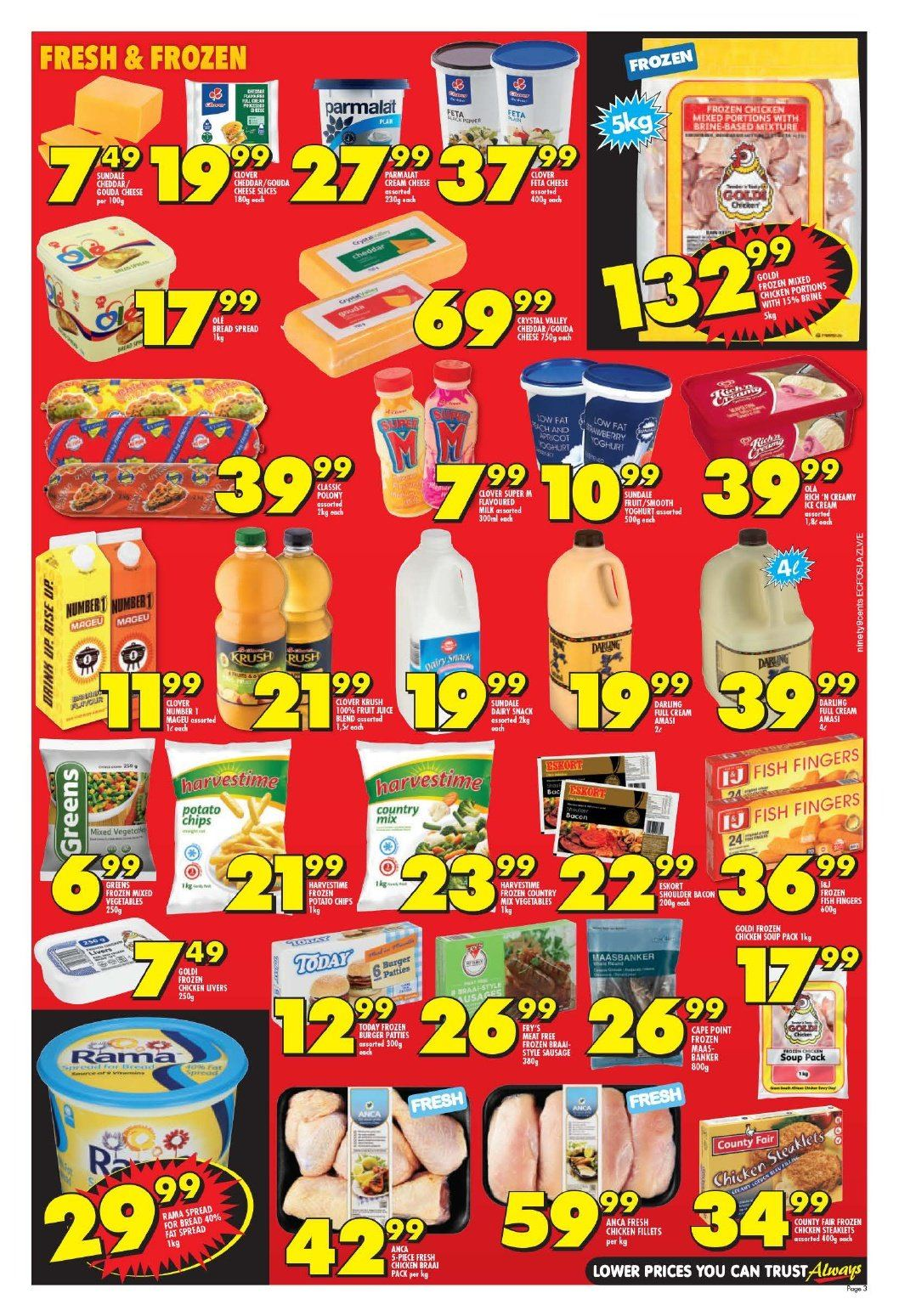 Shoprite catalogue  - 10.22.2018 - 11.04.2018. Page 3.