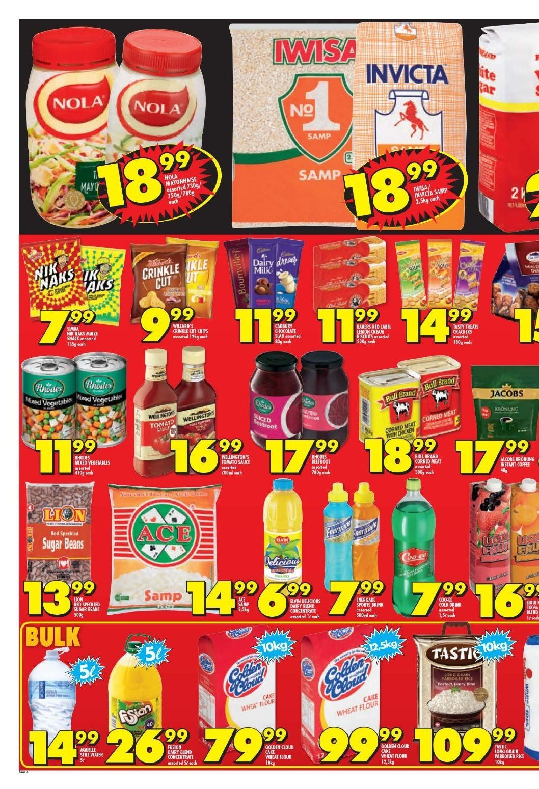 Shoprite catalogue  - 10.22.2018 - 11.04.2018. Page 4.