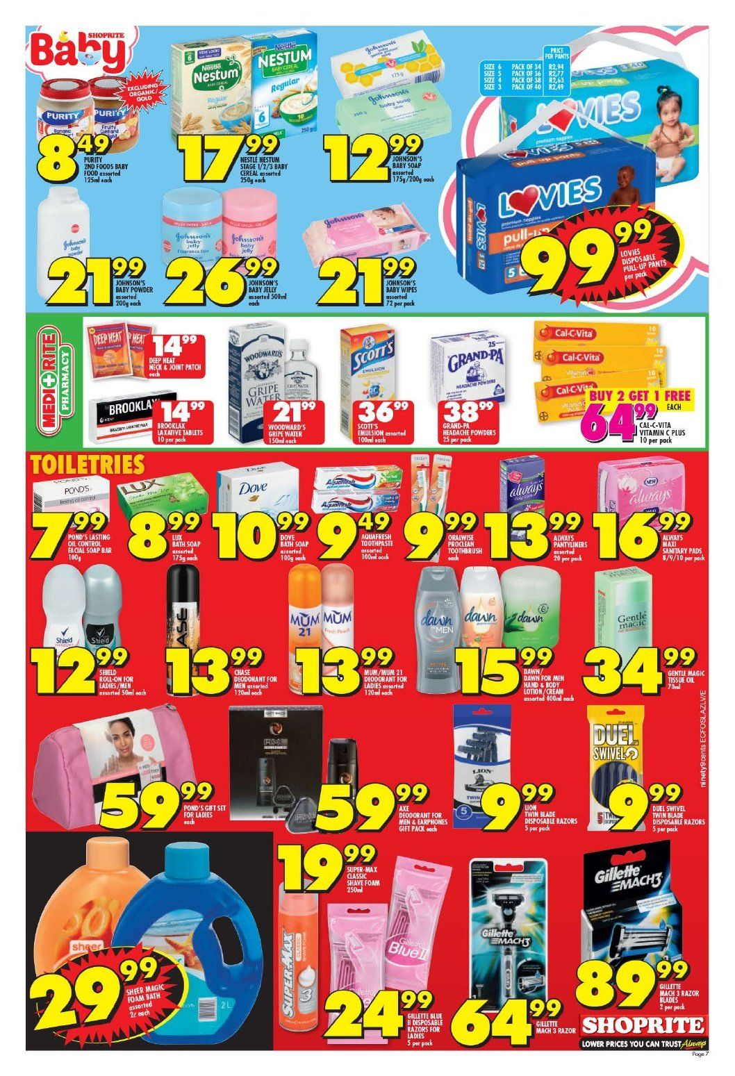 Shoprite catalogue  - 10.22.2018 - 11.04.2018. Page 7.