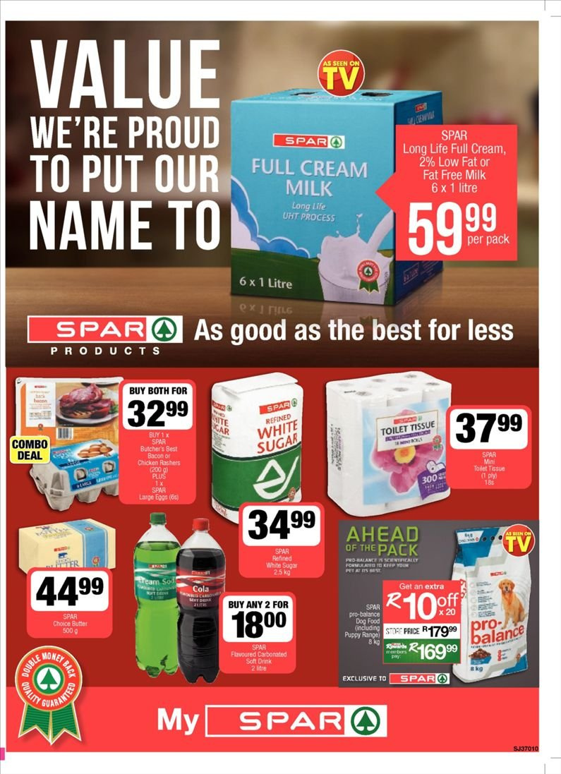 SPAR catalogue  - 10.23.2018 - 11.04.2018. Page 1.
