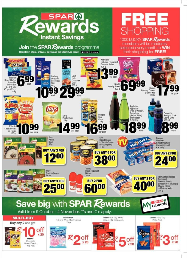 SPAR catalogue  - 10.23.2018 - 11.04.2018. Page 7.