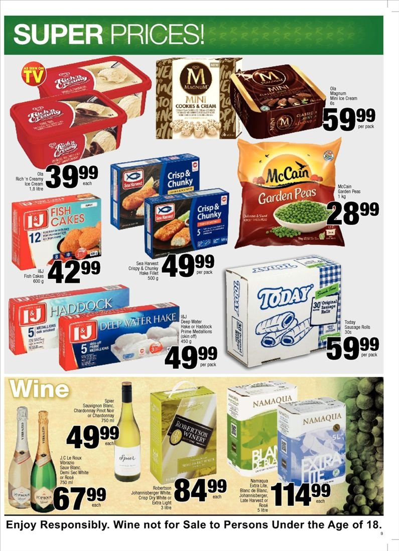 SPAR catalogue  - 10.23.2018 - 11.04.2018. Page 9.
