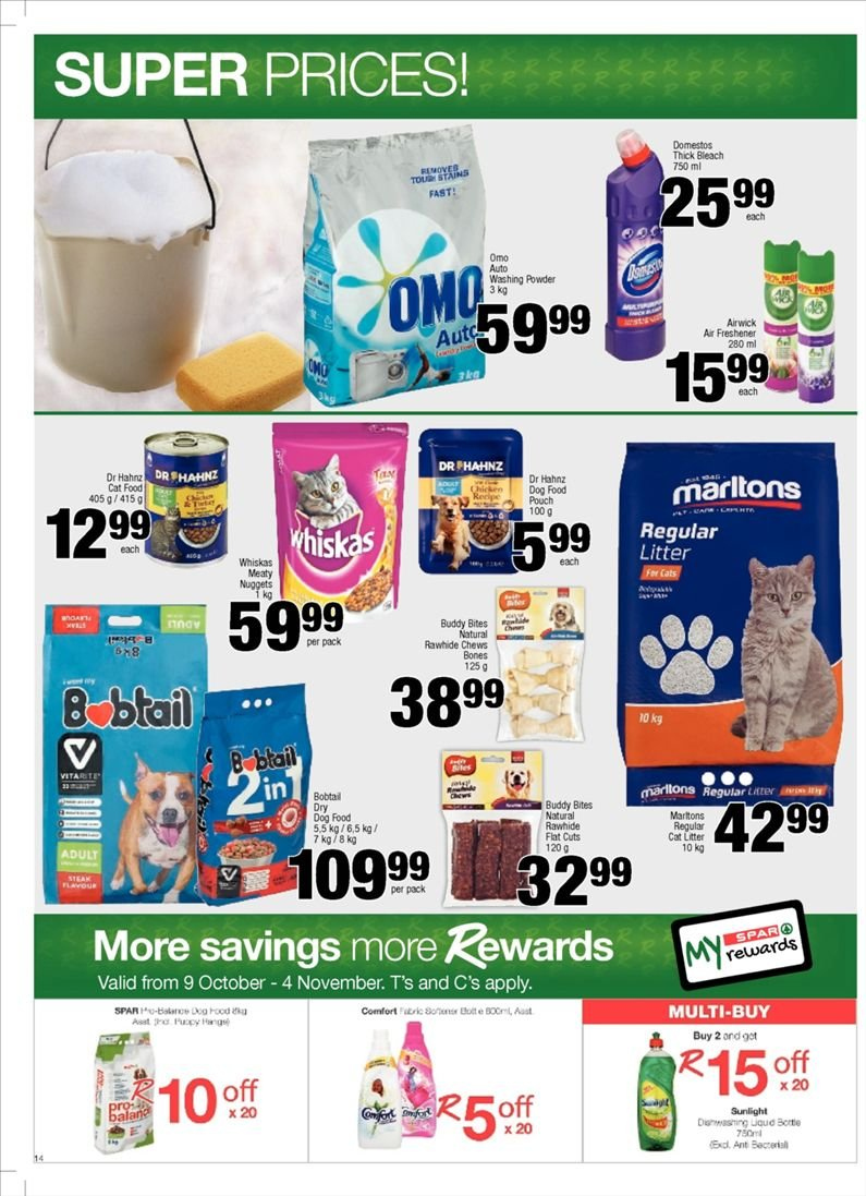 SPAR catalogue  - 10.23.2018 - 11.04.2018. Page 14.