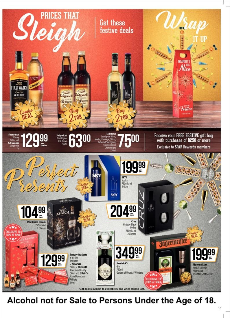 SPAR catalogue  - 10.23.2018 - 11.04.2018. Page 17.