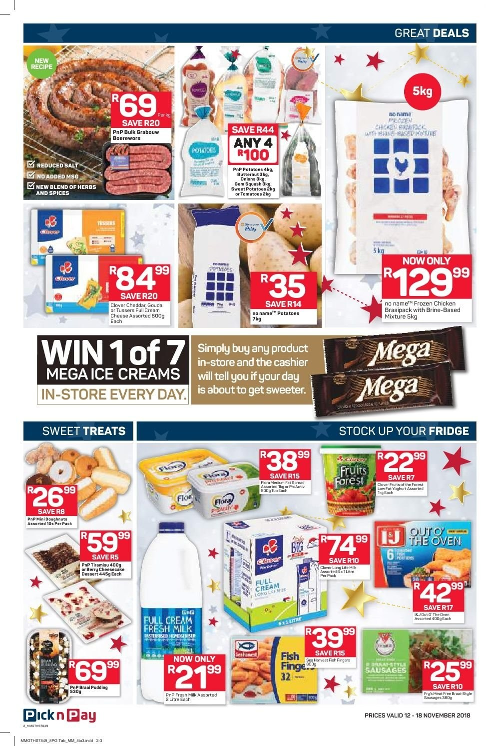 Pick n Pay catalogue  - 11.12.2018 - 11.18.2018. Page 2.