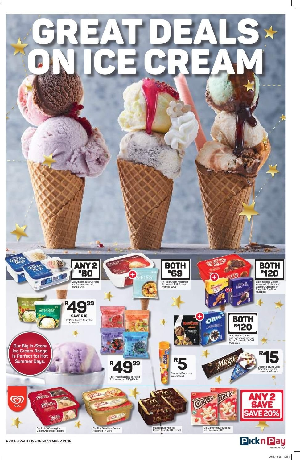 Pick n Pay catalogue  - 11.12.2018 - 11.18.2018. Page 3.