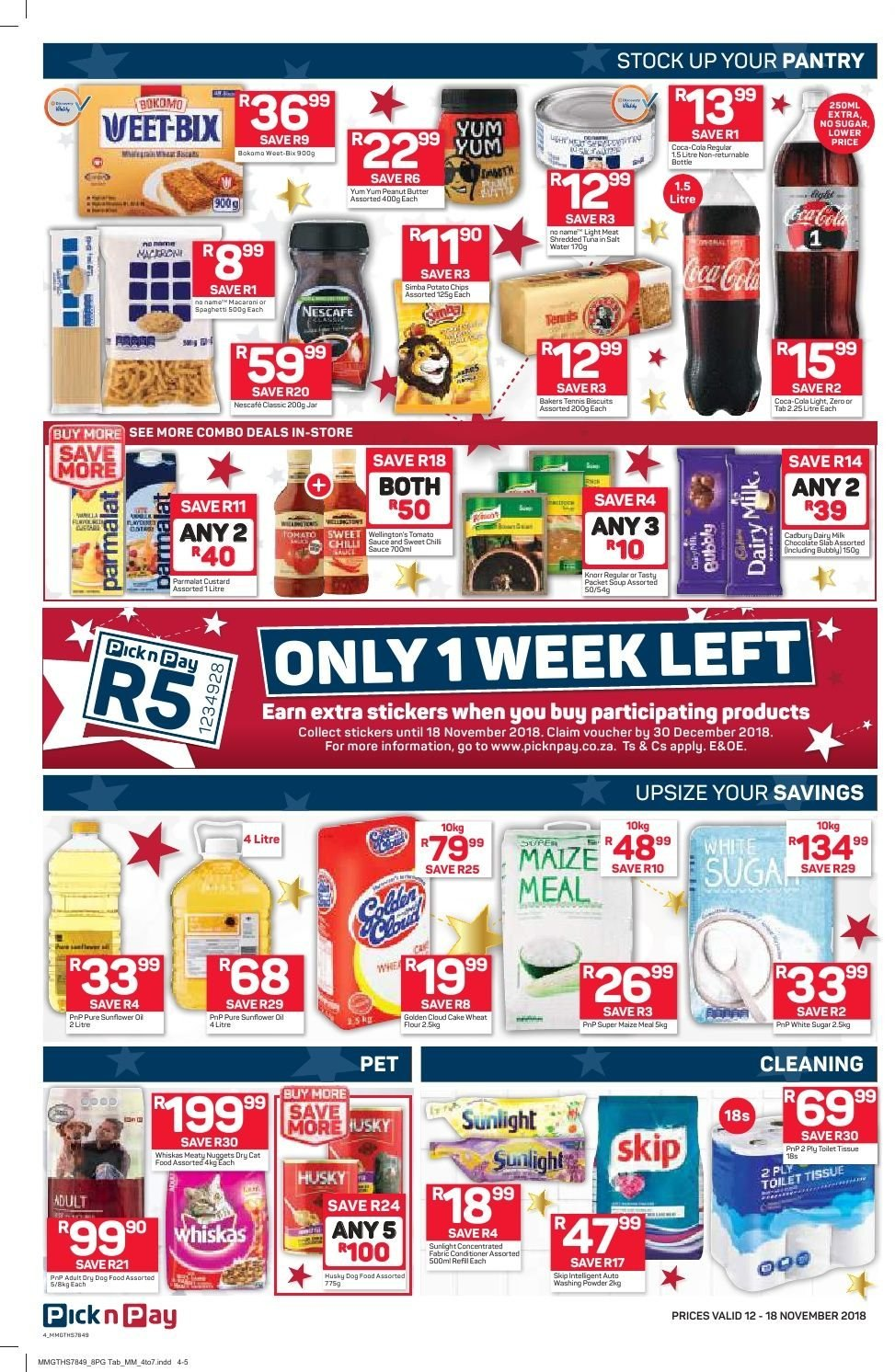 Pick n Pay catalogue  - 11.12.2018 - 11.18.2018. Page 4.