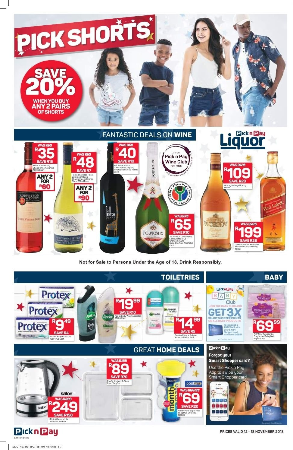 Pick n Pay catalogue  - 11.12.2018 - 11.18.2018. Page 6.